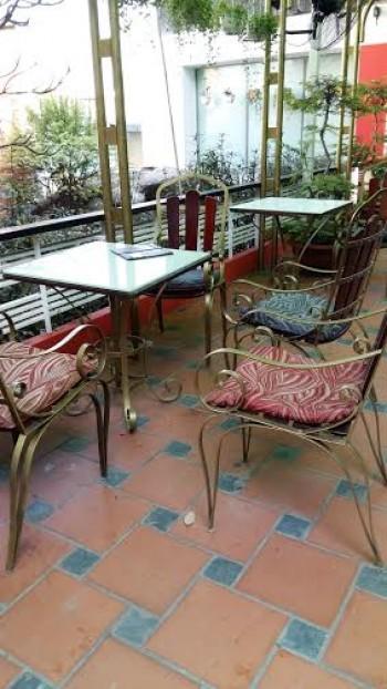 Thanh lý bàn ghế cafe sắt mỹ thuật