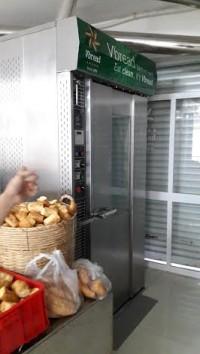 lò bánh mỳ 16 khay cũ