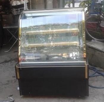Thanh lý tủ kính trưng bày bánh kem 1m